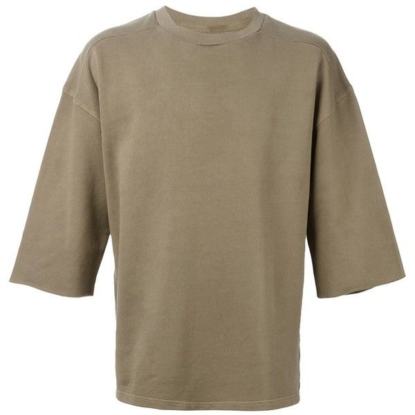 Yeezy Adidas Originals by Kanye West Oversized-Sweatshirt Eraldo (1.285 BRL) ❤ liked on Polyvore featuring tops, hoodies, sweatshirts, brown sweatshirt, oversized sweatshirts, adidas originals sweatshirt, adidas originals and oversized tops