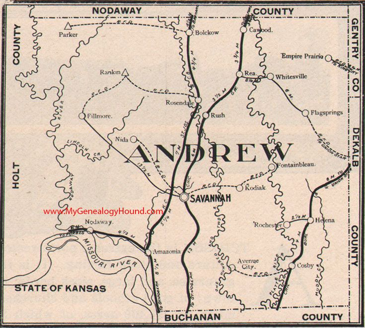 1000+ images about Vintage Missouri County Maps on Pinterest Andrews County
