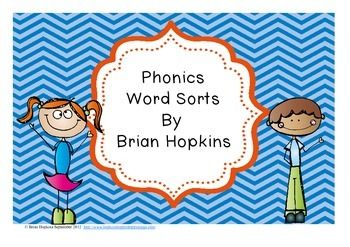UPDATED!  Phonics Word Sorts (46 of them!).  All major phonics skills PLUS prefixes and suffixes added! $