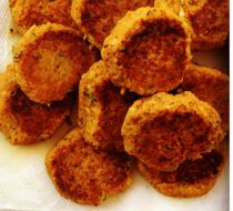 Sweet Potato Chickpea Patties - Supercook