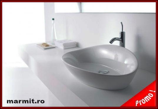 Lavoar oval pe mobilier Gala Elipse, obiecte sanitare, cazi de baie, cazi…