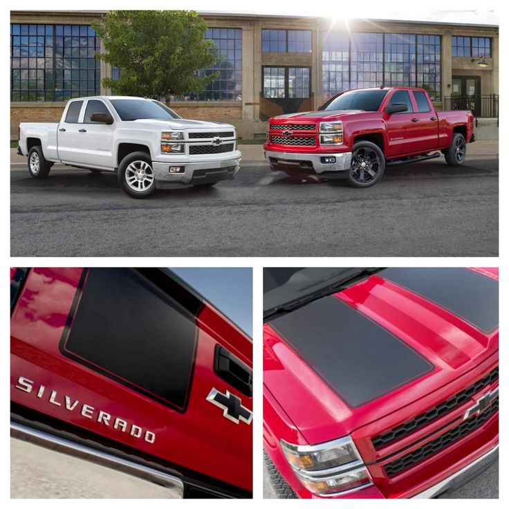 The 2015 #Silverado Rally Edition has earned its stripes! Stand out with unique rally stripes and body color grills.