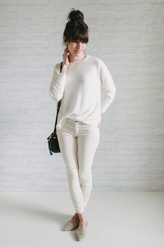 Un-Fancy - minimalista - 37 peças no armário - branco total