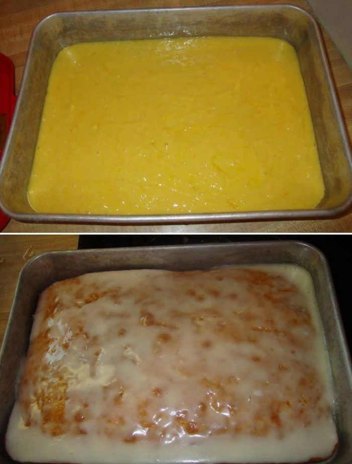 I love using lemon in desserts and cakes. It's has a unique flavor. This lemon cake is amazing! Check out how it's made. You'll Need (for the cake): 1 box of yellow cake mix. 1 small box of
