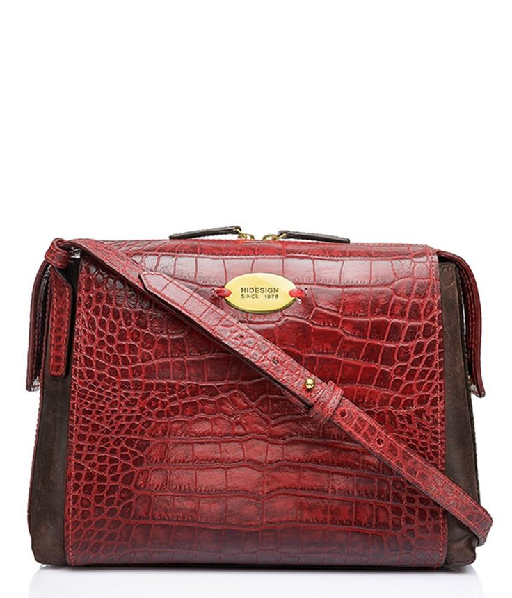 Hidesign 8903439331900 Red Sling Bags, http://www.snapdeal.com/product/hidesign-8903439331900-red-sling-bags/649542482