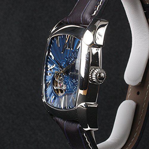 Amazon.co.jp: Orobianco オロビアンコ RettangOra Openheart レッタンゴラ オープンハート 【TiCTAC別注】 自動巻き 腕時計 メンズ OR-0043-5: 腕時計通販