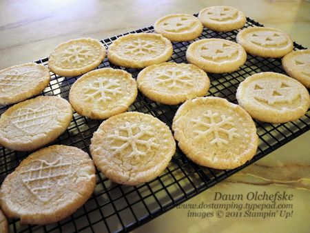 Stampin Up Sweet Pressed Cookie Stamps Snickerdoodle Recipe In 2018