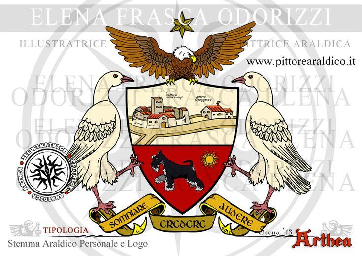 stemma_araldico_borghese_personale_logo_agriturismo