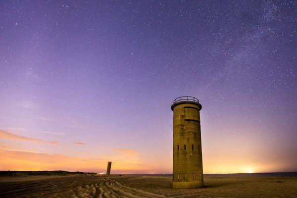 Wieże obserwacyjne na plażach Delaware