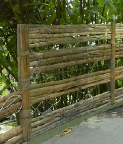 Iu0027d Like To Put The Invasive Bamboo That A Neighbor Planted To Good Use. Bamboo  GardenBamboo FenceRaised ...