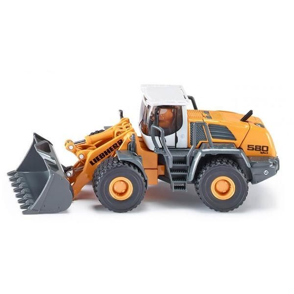Jual beli LIEBHERR 580 LOADER CONSTRUCTION Diecast SIKU di Lapak Rijal - rijal6683. Menjual Diecast - LIEBHERR 580 LOADER CONSTRUCTION #Diecast The latest series of the chunky Liebherr four wheel loader is now also available in 1:50 scale as a SIKU model. The detailed and extremely robust modeling will inspire kids and collectors. Details such as rotating rear axle, the folding arm situated in the middle and detailed mechanics of the loading arm underline the high quality of this model along…