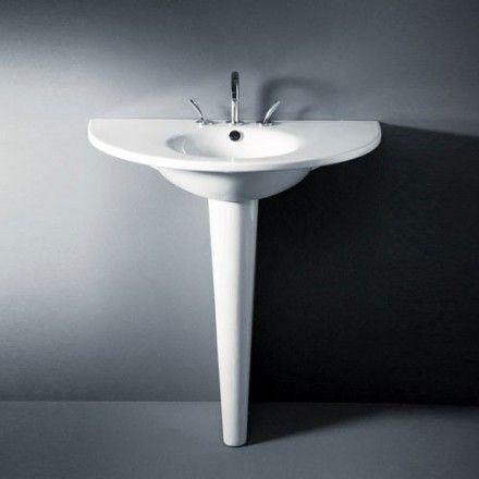 Lavabo colonne Starck 1 900mm http://www.masalledebain.com/lavabo/1022-lavabo-colonne-starck-1-900mm.html