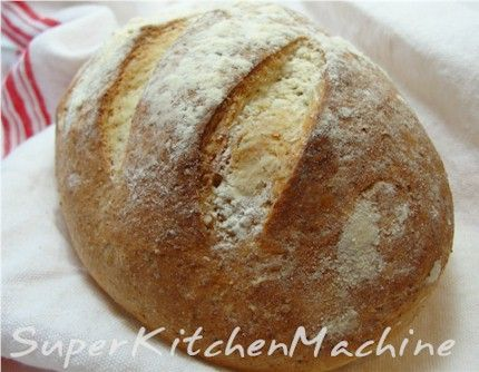 Isi's Portugese bread {Made this bread tonight, quick, easy and very yummy!! Made 2 medium loaves- we devoured one at dinner!