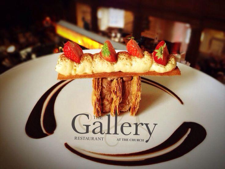 Amazing food in our Gallery Restaurant. #food #dublin #restaurant #thechurchbar