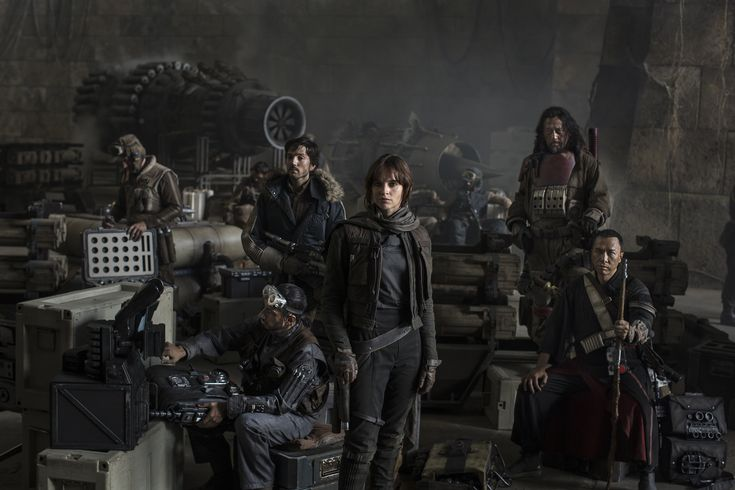 'Rogue One: A Star Wars Story'. Not awful but too many Star Wars movies...