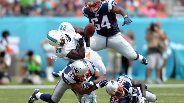 New England Patriots Schedule Standings Stats Roster Live Blog Odds Logan Ryan, Patrick Chung's Coverage Among Keys In Patriots-Dolphins by Doug Kyed on Thu, Oct 29, 2015 at 8:00AM -      Miami Dolphins head coach Dan Campbell has made sure his team is no longer a pushover. That doesn't mean his Dolphins will march into Gillette Stadium and beat the New England Patriots, however. Th...