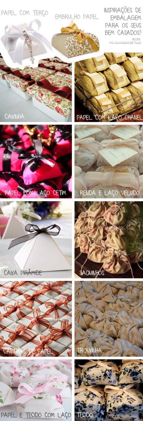 Mil Camadas de Tule | Blog de casamento, viagens, beleza: Como embrulhar seus Bem-Casados - Muitas Ideias!
