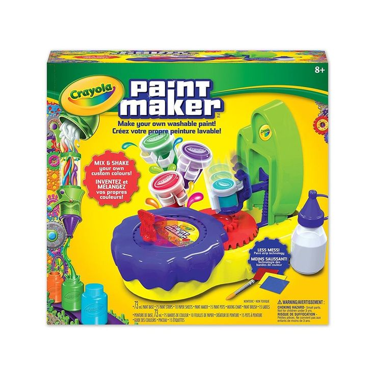 Crayola Paint Maker - Make Your Own Washable Paint! Mix & Shake Your Own Colours   eBay