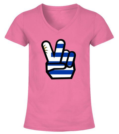 URUGUAY flag winning finger Shirt