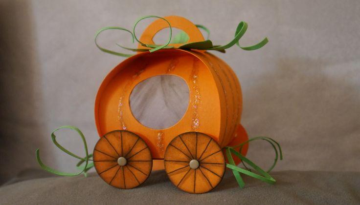Cinderella-Kutsche mit der Curvy Keepsake Box von Stampin' Up!