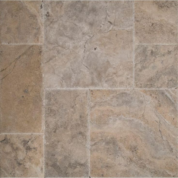 ms silver pattern travertine floor and wall tile kits 80 sq pallet at the home depot