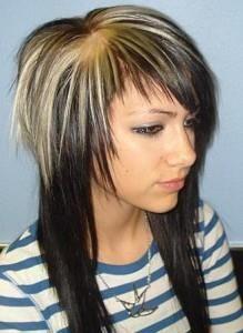 Стрижка шапка на длинных волосах