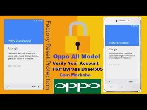 Oppo A37F Verify Google Account, FRP Bypass