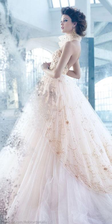 Lazaro   Bridal 2013.    So nice