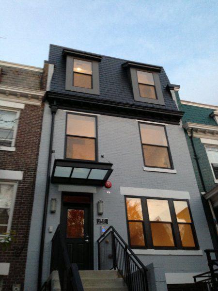 25 best mansard roof ideas on pinterest for Modern mansard roof