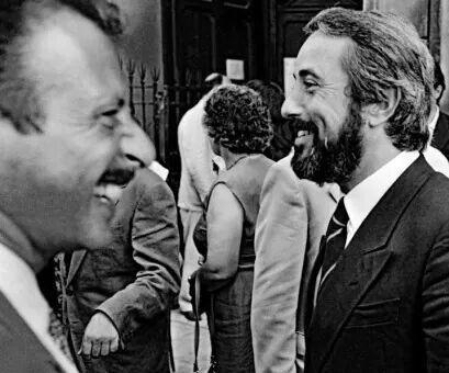 Giovanni Falcone e Paolo Borsellino. L' onda che avanza.