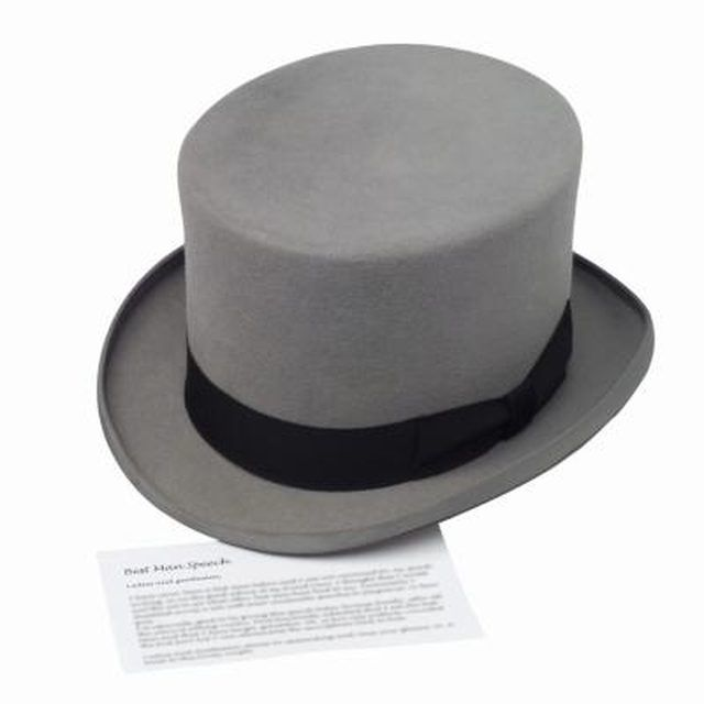 Remember, top hats don't have to be black.