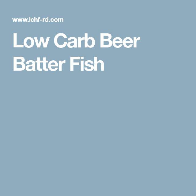 Low Carb Beer Batter Fish