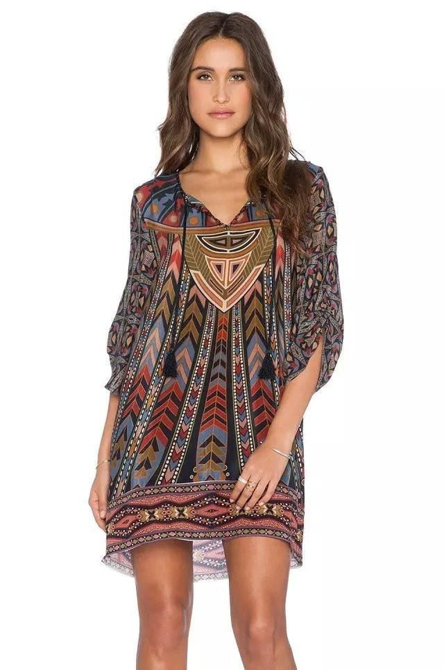 Boho - Chic Loose Top Bohemian Top - Hippie BLiss - The latest in Bohemian Fashion! These literally go viral!