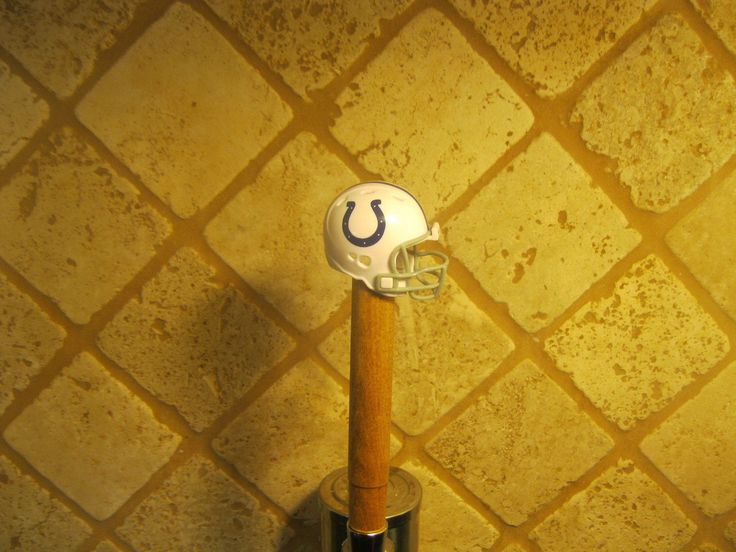 NFL Colts KEGERATOR BEER TAP HANDLE Football Helmet Bar Sport