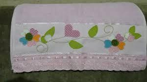 Resultado de imagem para barrados de toalhas em patchwork