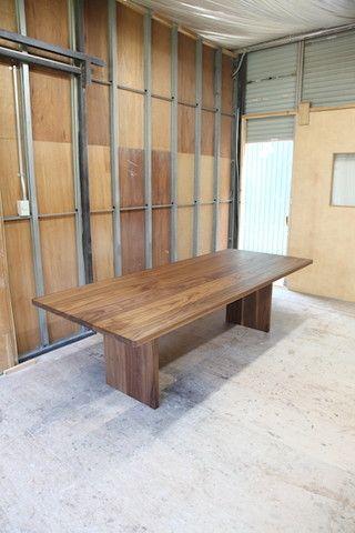 ダイニングテーブル ウォールナット 無垢材 木製 旭川 20160814005.JPG