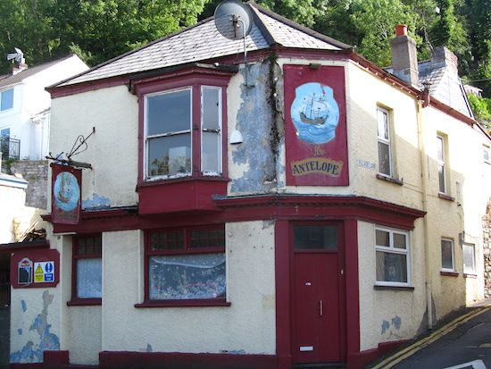 Sadly, the pub which was one of Dylan Thomas's Swansea