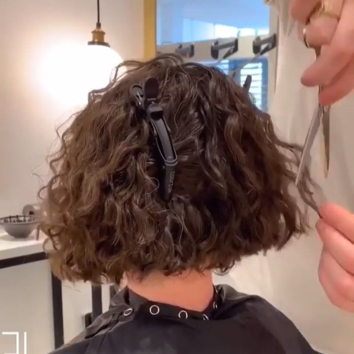 New The 10 Best Hairstyles With Pictures طريقة قص الشعر الكيرلي شوفو كيف الكثافه و اللمعه بالأخير خوراااااافيه كيرلي Curlyhai Hair Styles Hair Beauty