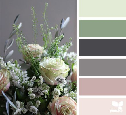 Flora Hues - Colors for Spring DIY and decorating projects.