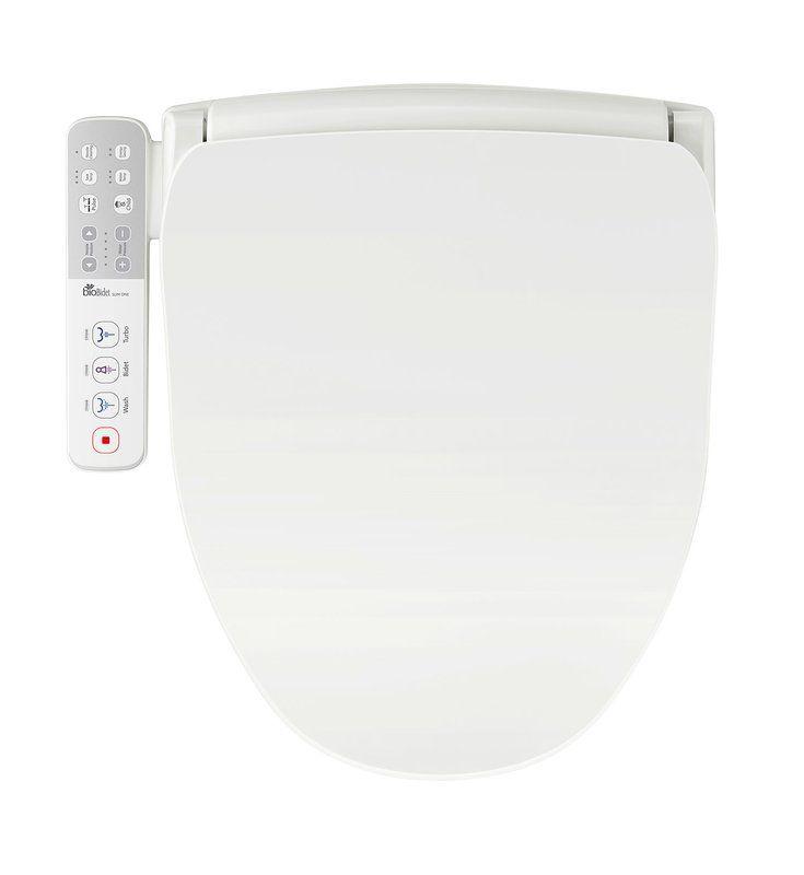 Slim One Round Toilet Seat Bidet Smart Toilet Bidet Toilet Seat