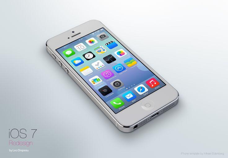 La versión alternativa del diseño de iOS 7 que está arrasando en la red
