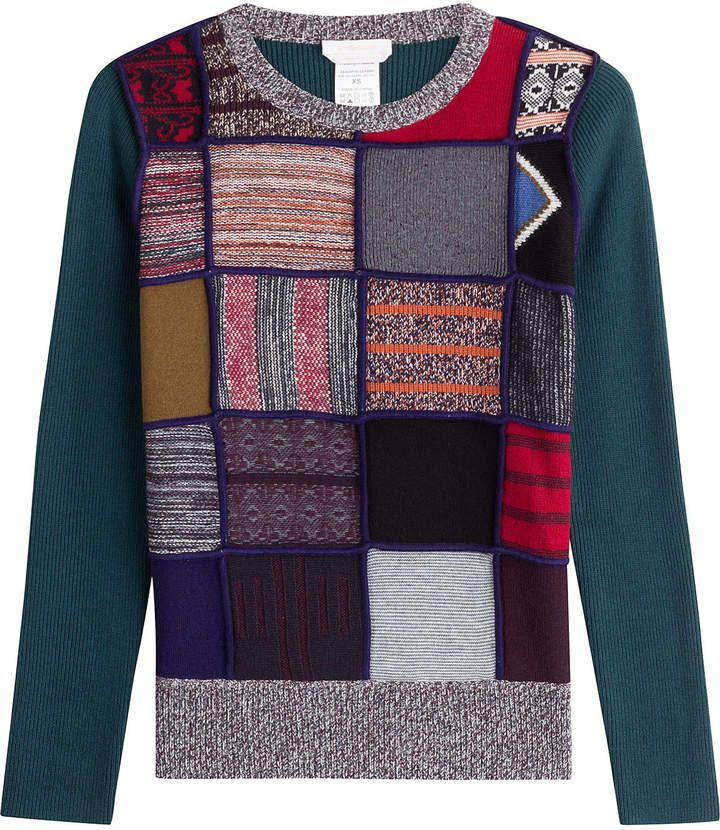See by Chloe Knit Pullover with Wool / jersey con estampados