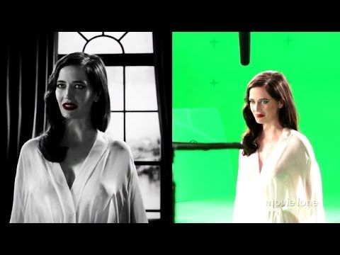 Eva Green - Behind the Scenes Sin City A Dame To Kill For - YouTube
