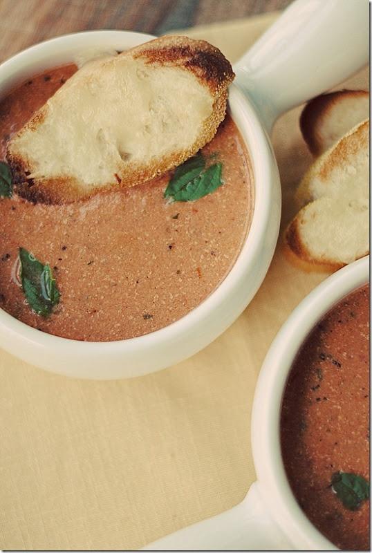 Tomato-Basil Soup | Recipe | Tomato Basil Soup, Tomato Basil and Basil