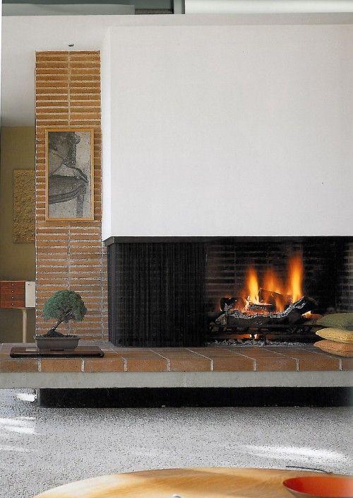Mid Century Modern Fireplace Design 69 best retro fireplaces images on pinterest | midcentury modern