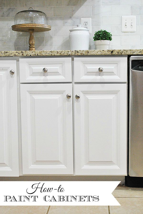 How To Paint Your Kitchen Cabinets For A Smooth Painted