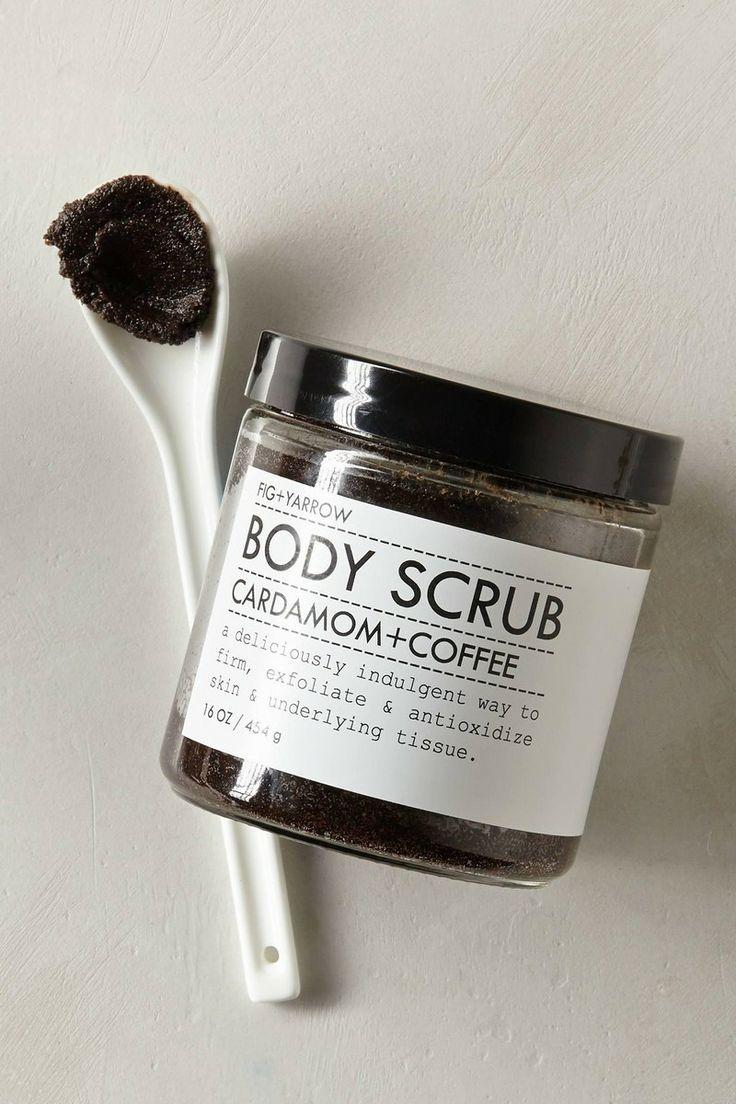 Fig + Yarrow || Cardamom & Coffee Body Scrub