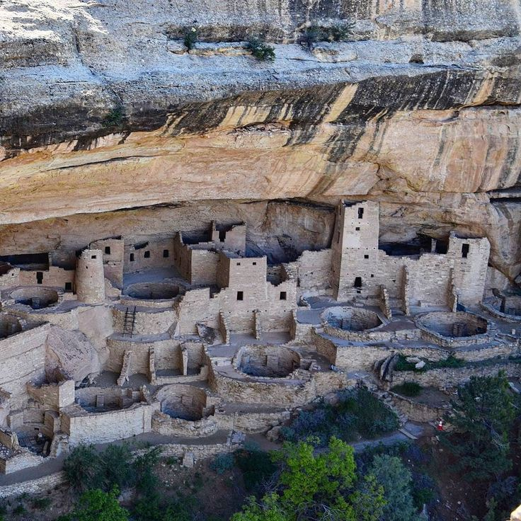Cliff Palace at Mesa Verde National Park. This is an Unesco World Heritage Site.