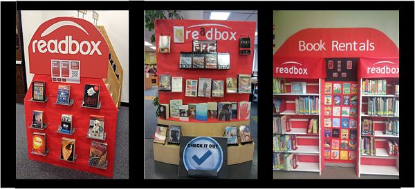 Readbox--great display ideas for the older reader