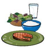 À quoi correspond une portion du Guide alimentaire?